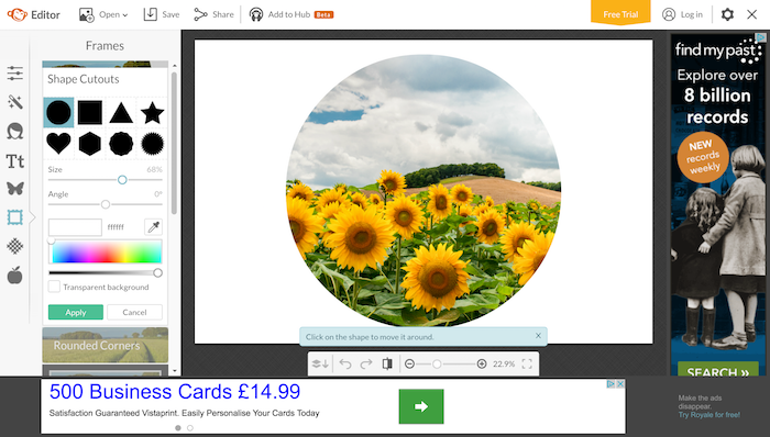 Editing tricks: Using PicMonkey to add filters & layers to